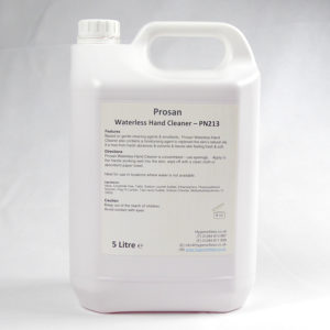 PN213 Waterless Hand Cleaner
