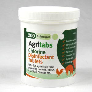 200 Agritabs Animal Chlorine Disinfection Tablets